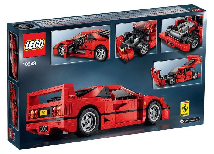 LEGO Creator Ferrari F40-03