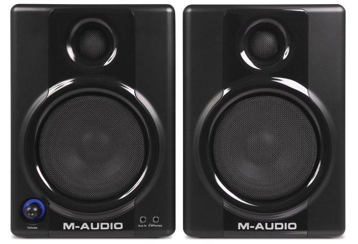 M-Audio Studiophile AV 40 Active Studio Monitor Speakers-sale-01