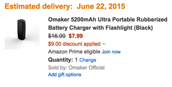 Omaker Premium 40W 5V:8.5A 5-Port lightning Speed Desktop USB Charger with Smart Output Technology for family ,travel,office and so on