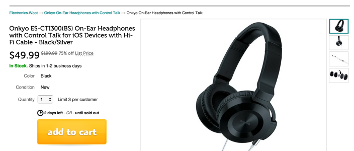 Onkyo On-Ear Headphones with Control Talk for iOS Devices (ES-CTI300(BS))-sale-02