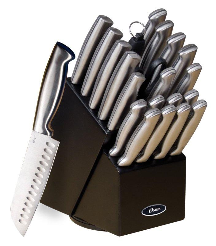 Oster Baldwyn 22-Piece Cutlery Block Set in Brushed Satin (70562.22)-sale-01