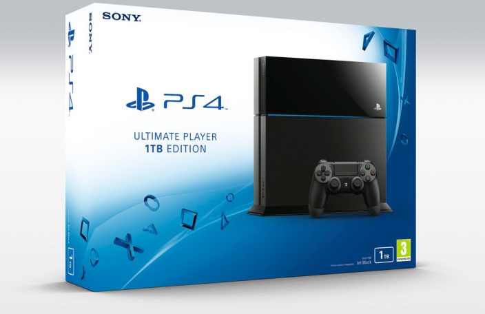 PlayStation 4-1TB-new