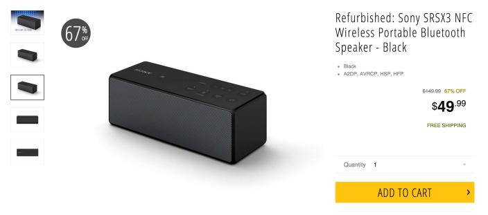 Sony SRSX3 NFC Wireless Portable Bluetooth Speaker in black-sale-03