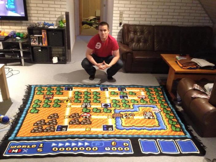 Super Mario Bros 3 Crochet-blanket-08