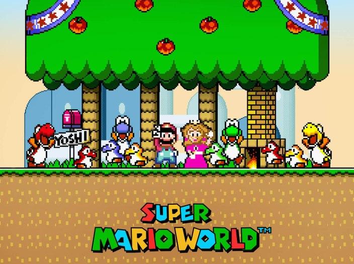 Super-Mario-World-speedrun-blindfolded