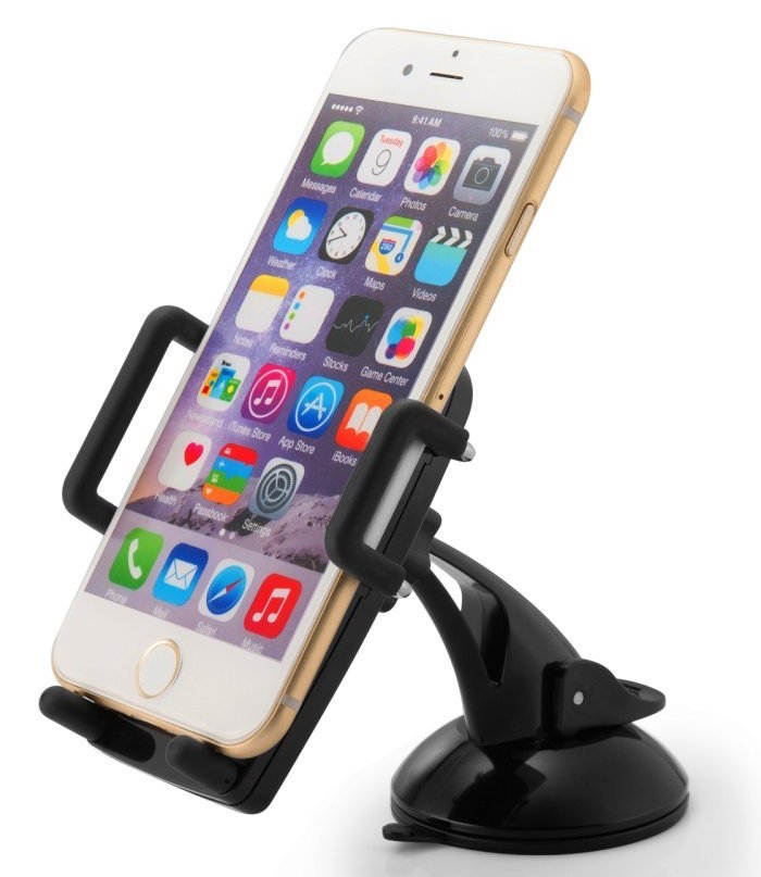 TaoTronics Windshield : Dashboard Universal Car Mount Holder Cradle for iPhone 6 (4.7): Plus (5.5): 5s: 5c:4s:4, Samsung Galaxy S6:S6 Edge:S5:S4:S3: Note 4:3, Google Nexus 5:4, LG G3, Nokia, Xperia, Moto, HTC