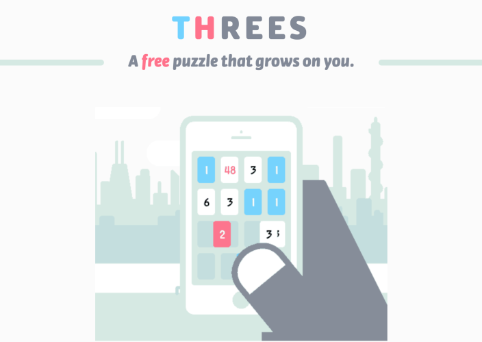 Threes!-Free-new-iOS-Android