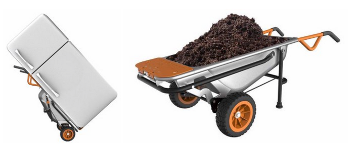 WORX AeroCart- 8-in-1 Multi-Function Wheel Barrow Yard Cart-sale-04