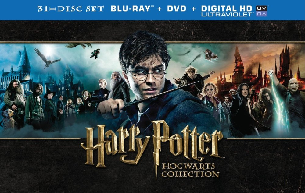 Amazon Gold Box - Harry Potter Hogwarts Collection on Blu-ray & DVD