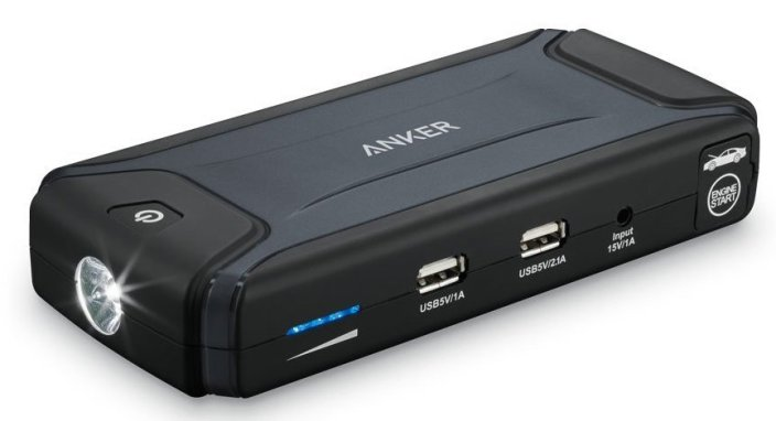 Anker Compact Car Jump Starter and Portable Charger Power Bank