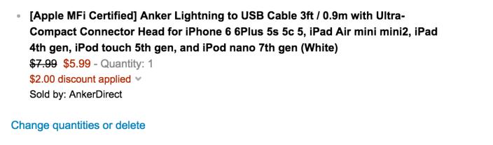Anker Lightning cable sale-02