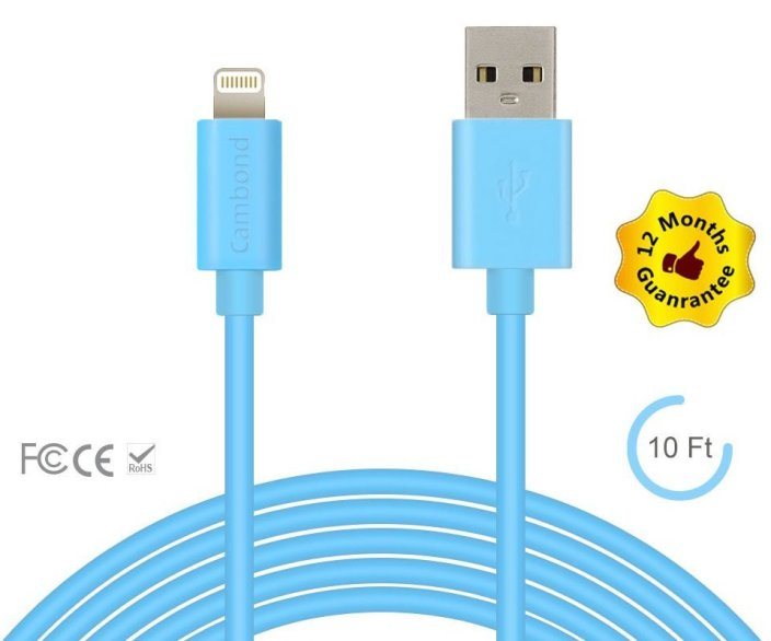 Apple Certified Cambond® 8 Pin Data Sync Lightning Cable