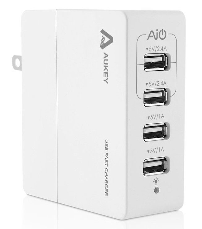 Aukey Four port Charger