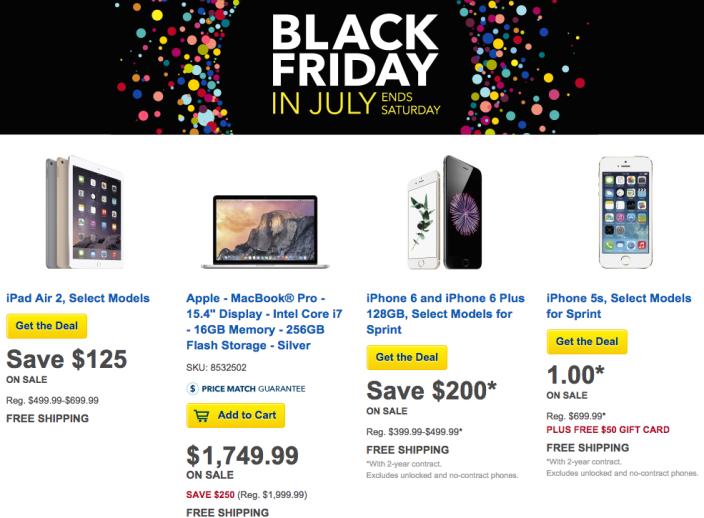 best-buy-black-friday-July-Apple