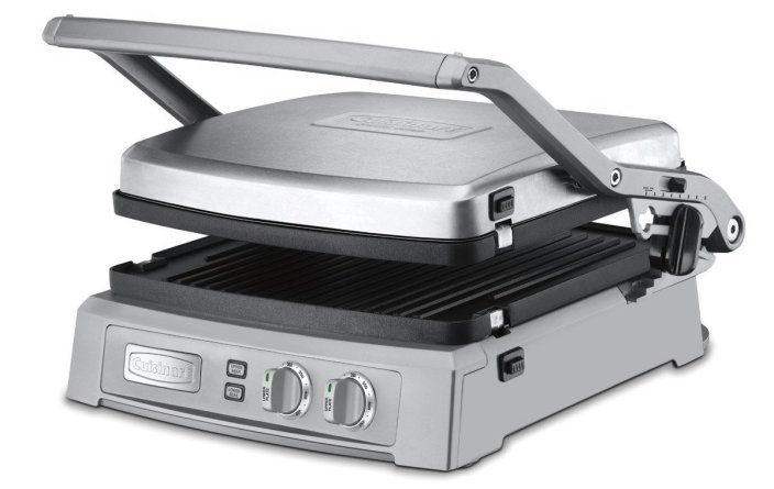Cuisinart GR-150 Griddler Deluxe, Brushed Stainless-sale-01
