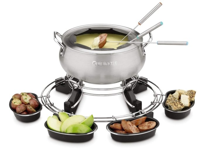 Cuisinart Lazy Susan Electric Fondue Maker (CFO-1000)-sale-01
