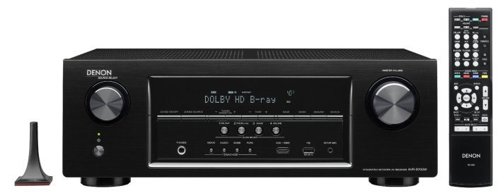 Denon AVR-S700W 7.2-Channel Network A:V Receiver with Bluetooth and Wi-Fi