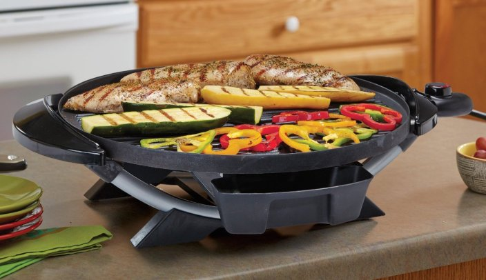 George Foreman GFO240S Indoor:Outdoor Electric Grill-sale-01