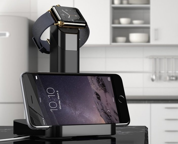 Griffin WatchStand Dual Charging Dock for Apple Watch and iPhone-sale-01