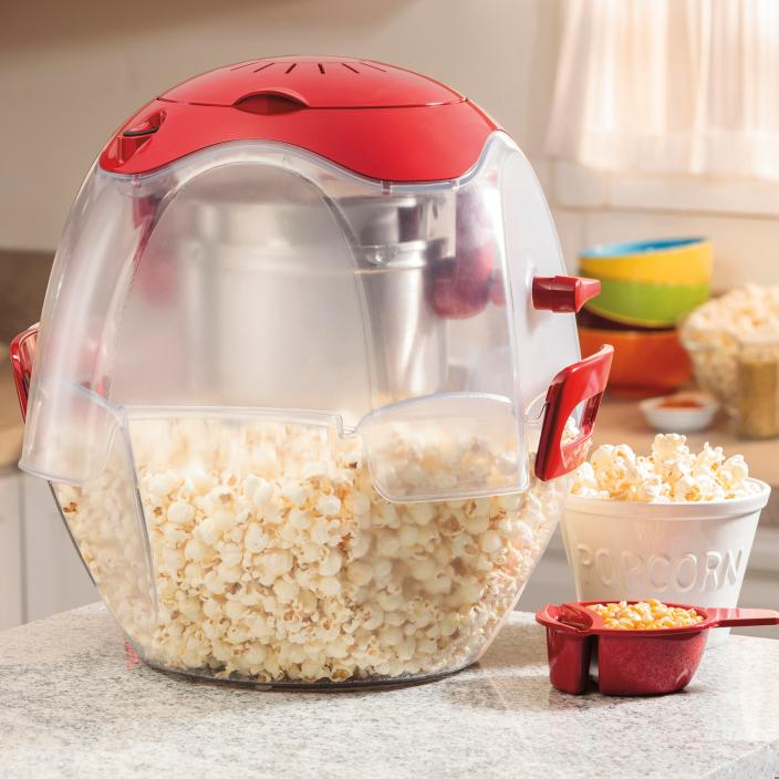 Hamilton Beach Party Popper Popcorn Maker in red (73310)-sale-01