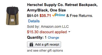 herschel-backpack-amazon-deal