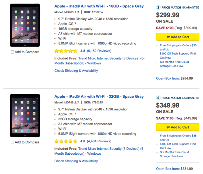 ipad-air-best-buy-cyber-monday-july