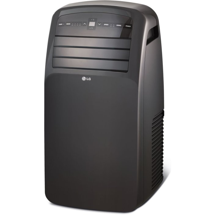 LG 12,000 BTU Portable AC with Remote:Oscillating Air Vent-sale-01