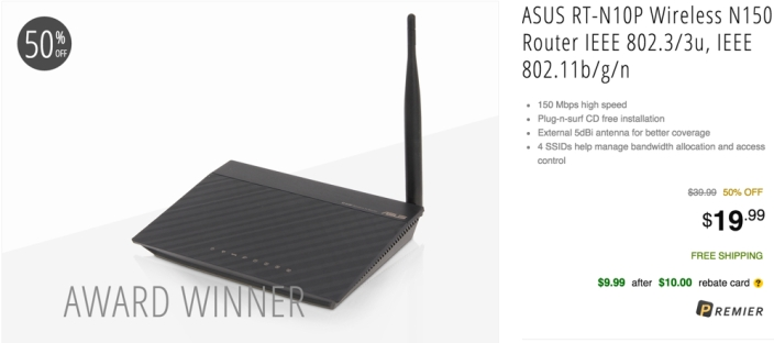 Linksys (EA6200) Dual Band AC900 Smart Wi-Fi Router