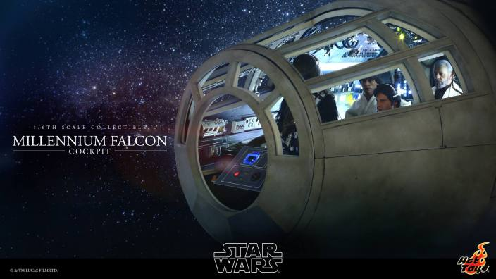 Millennium Falcon cockpit Hot Toys-model-01