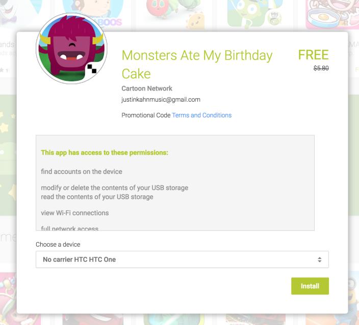 Monsters Ate My Birthday Cake-Google-Free-app-Week-05