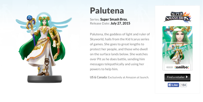 Palutena-amiibo-amazon