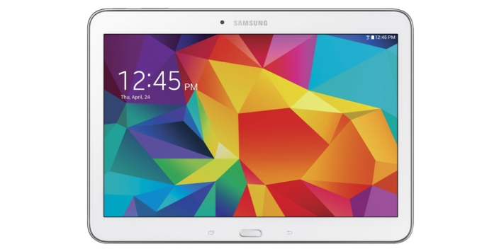 Samsung Galaxy Tab 4 16GB Wi-Fi Tablet in White w: Pouch new open box