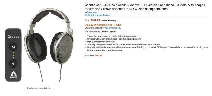 Sennheiser HD650 Audiophile Dynamic Hi-Fi Stereo Headphones-sale-01-Apogee