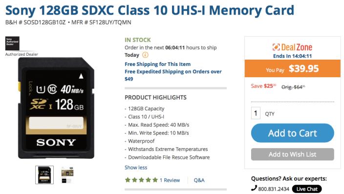 sony-128gb-sdxc-card-deal
