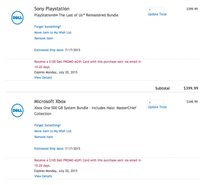 sony-ps4-xbox-one-dell-gift-card-deal
