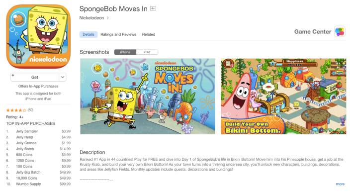 spongebob-ios-game