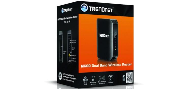 TRENDnet TEW-751DR N600 Dual Band Wireless Router IEEE 802.11a:b:g:n, IEEE 802.3:3u