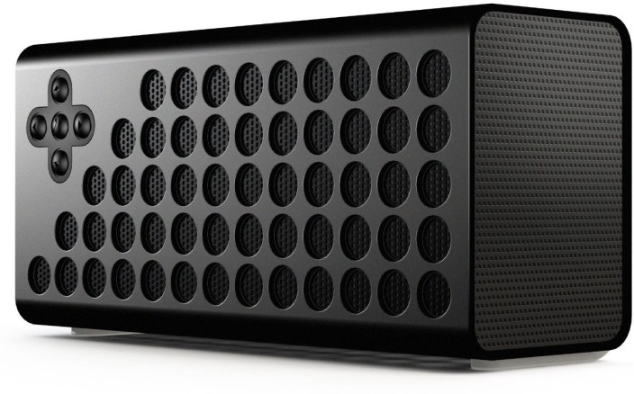 Urge Basics Cuatro Portable Wireless Bluetooth Speaker with Bass+ Technology - Includes Carrying Case and Charging Cable; Compatible with Smartphones, Tablets and Mp3 Players with Bluetooth Capability, Black
