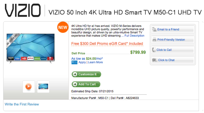 vizio-M50-C1-dell-deal
