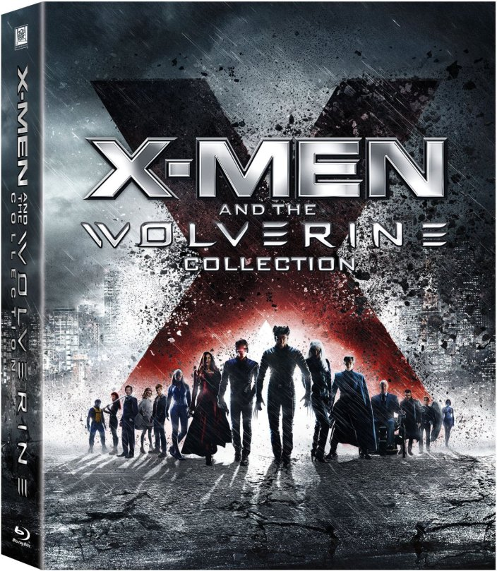 X-Men and the Wolverine Collection amazon bluray