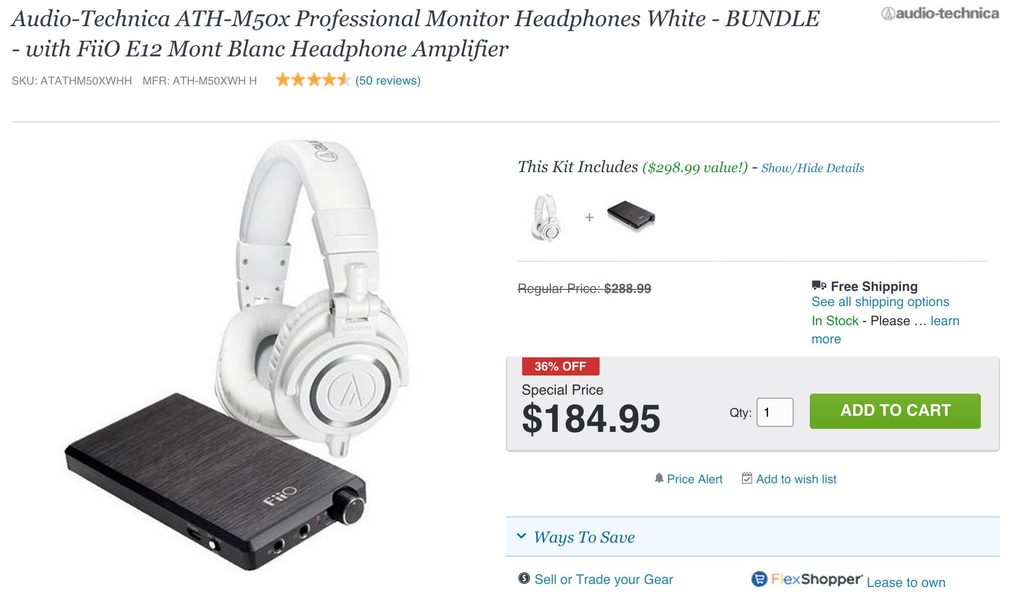 audio-technica-fiio-deal