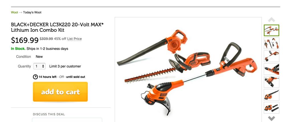 Black + Decker 20-Volt MAX* Lithium Ion Lawn Tool Combo Kit (LC3K220)-sale-03