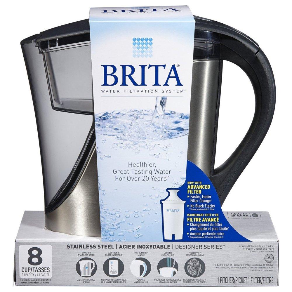 Brita Stainless Steel Water Filter Pitcher-sale-01