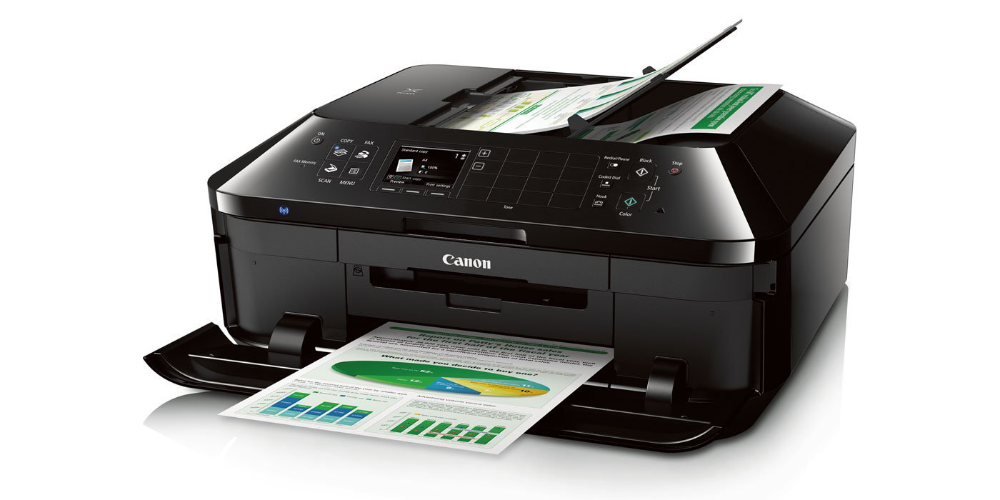 Canon PIXMA Wireless Color Photo Printer with Scanner, Copier and Fax (MX922)-sale-01