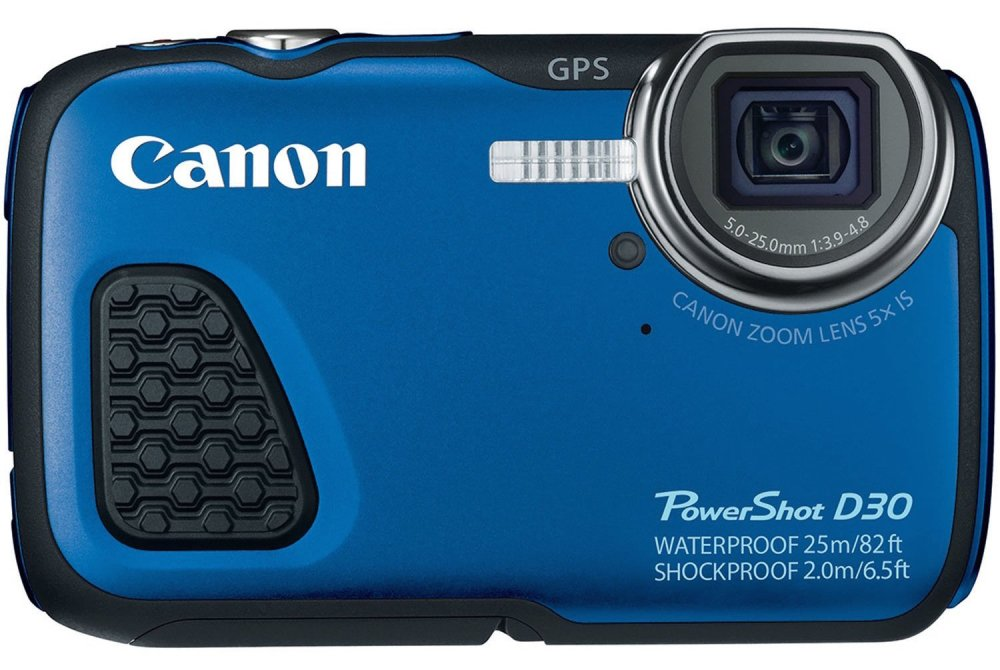 Canon PowerShot D-30 12.1-Megapixel Waterproof Digital Camera