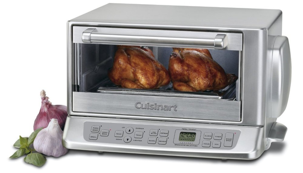 Cuisinart TOB-195 Exact Heat Convection Toaster Oven - Brushed Chrome-sale-01