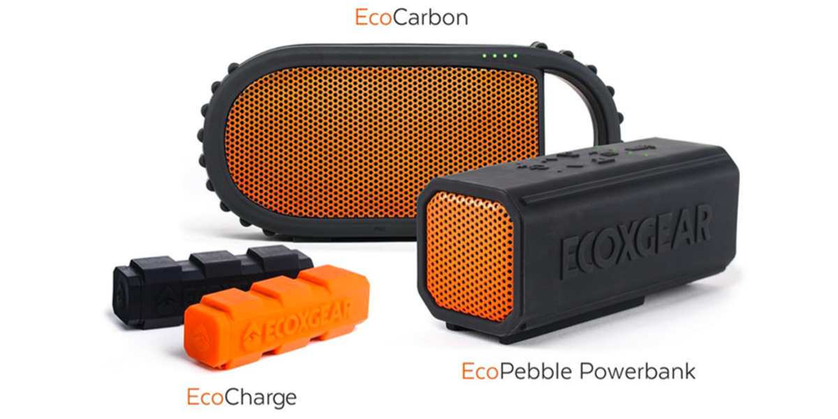 Ecoxgear S New Rugged Bluetooth Speakers And Power Banks