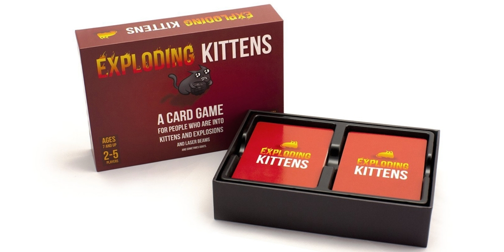 exploding kitterns card game