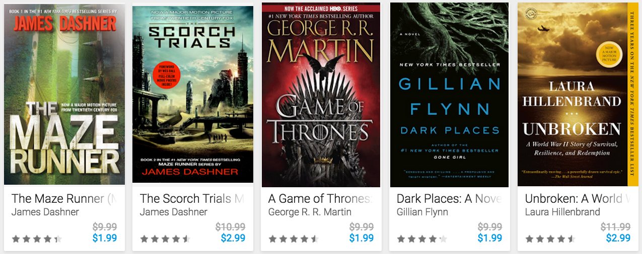google-play-book-sale