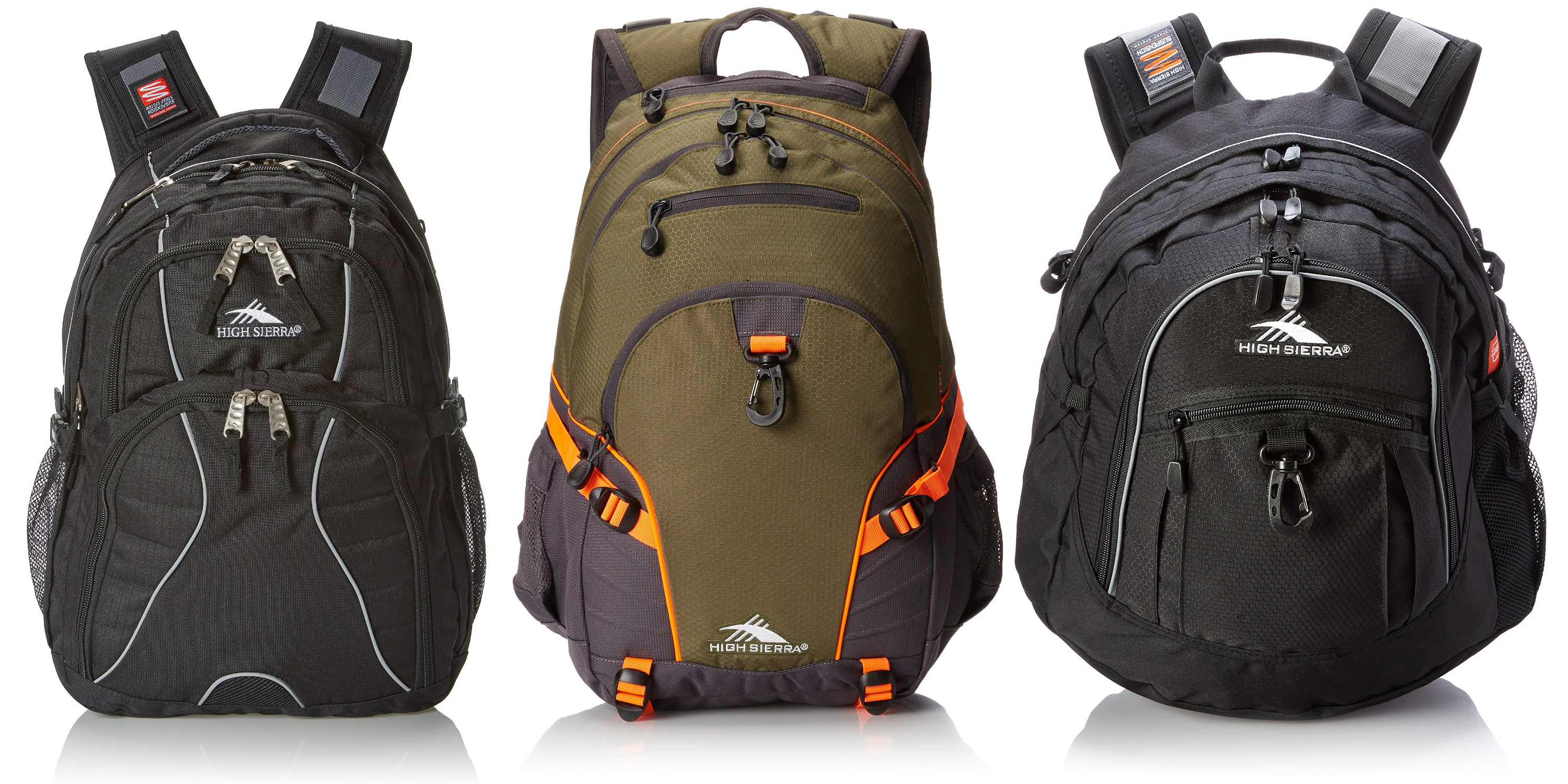 9cc80cdbf2 Amazon Gold Box - up to 50% off High Sierra backpacks starting under  20  Prime shipped